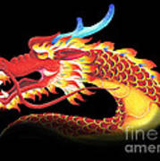 Eastern Dragon Art Print