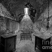 Eastern State Penitentiary Bw Art Print