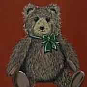 Easton's Teddy Art Print