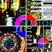 Eat Drink Explore Repeat 20140713 Horizontal Art Print