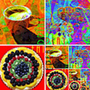 Eat Drink Play Repeat 20140705 Art Print