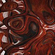 Ebony Flow Art Print by Jack Zulli