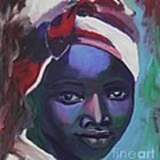 Ebony Women Art Print