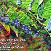 Ecclesiastes 9 1 Art Print
