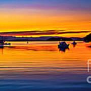 Echo Bay Sunset Art Print