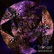Echoes Through The Night Veil  Art Print