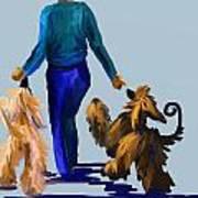 Eddie Dancing With Dogs Art Print
