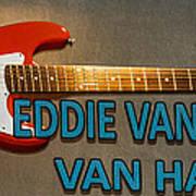 Eddie Van Halen Guitar Art Print