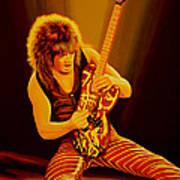 Eddie Van Halen Painting Art Print