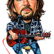 Eddie Vedder Art Print by Art