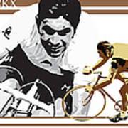 Eddy Merckx Art Print