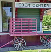 Eden Center Depot 1943 Art Print