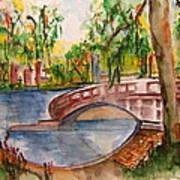 Eden Park Lake Art Print