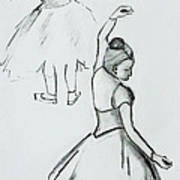 Edgar's Dancers Art Print