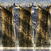Edge Of A Fountain Art Print