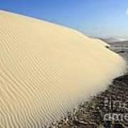 Edge Of The Dune Brazil Art Print
