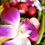 Edible Flowers Art Print