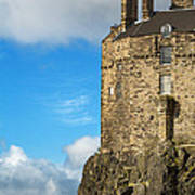 Edinburgh Castle Detail Art Print