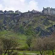 Edinburgh Castle - Scotland  Art Print