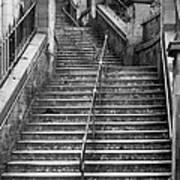 Edinburgh Steps Art Print