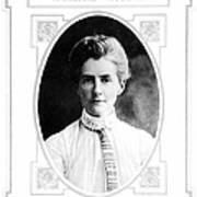 Edith Cavell (1865-1915) Art Print
