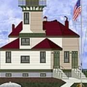 Ediz Hook Historical View Redux 2013 Art Print