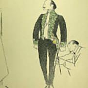 Edmond Rostand (1868-1918) Art Print