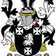 Edney Coat Of Arms Irish Art Print