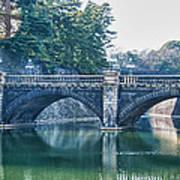 Edo Castle And Nijubashi Bridge Art Print