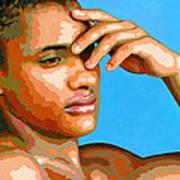 Eduardo Na Luz Art Print by Douglas Simonson