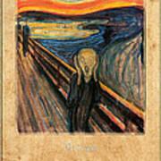 Edvard Munch 1 Art Print