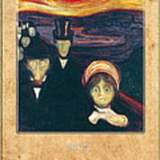 Edvard Munch 2 Art Print