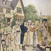 Edward Jenner Carries Out His First Art Print