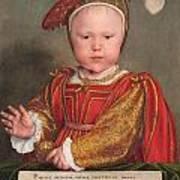 Edward Vi As A Child Art Print
