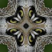 Eery Eyes - 1 Art Print