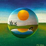 Eeyorb  Art Print