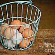 Egg Basket Art Print