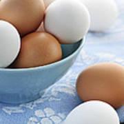 Eggs In Bowl Art Print