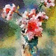 Eglantine From My Garden Art Print