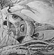 Ego-bird-fish Nesting Ground Art Print