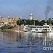 Egypt - Nile Steamboat Art Print