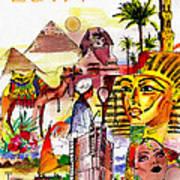 Egypt Art Print by George Rossidis