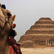 Egypt Step Pyramid Saqqara Art Print
