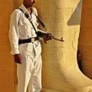 Egypt Tourist Security Art Print