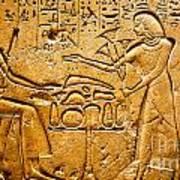 Egyptian Hieroglyphics Art Print