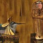 Egyptian Hummers Art Print