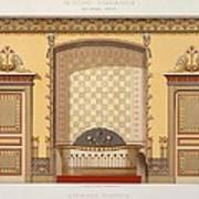 Egyptian Interior , From Interior Art Print