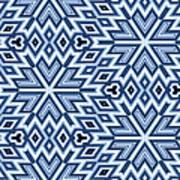 Egyptian Pyramidal Cubes Art Print
