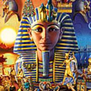 Egyptian Treasures II Art Print