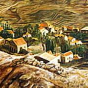 Ehden Lebanon Art Print